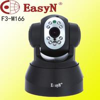 Free shipping Black  F3-M166 EasyN P2P Wireless CCTV Security  IP Camera Wi-Fi HD Internet Security Surveillance Webcam