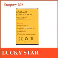 Original Snopow M8 Battery 3000mah Capacity Original Battery For Snopow M8 Phone