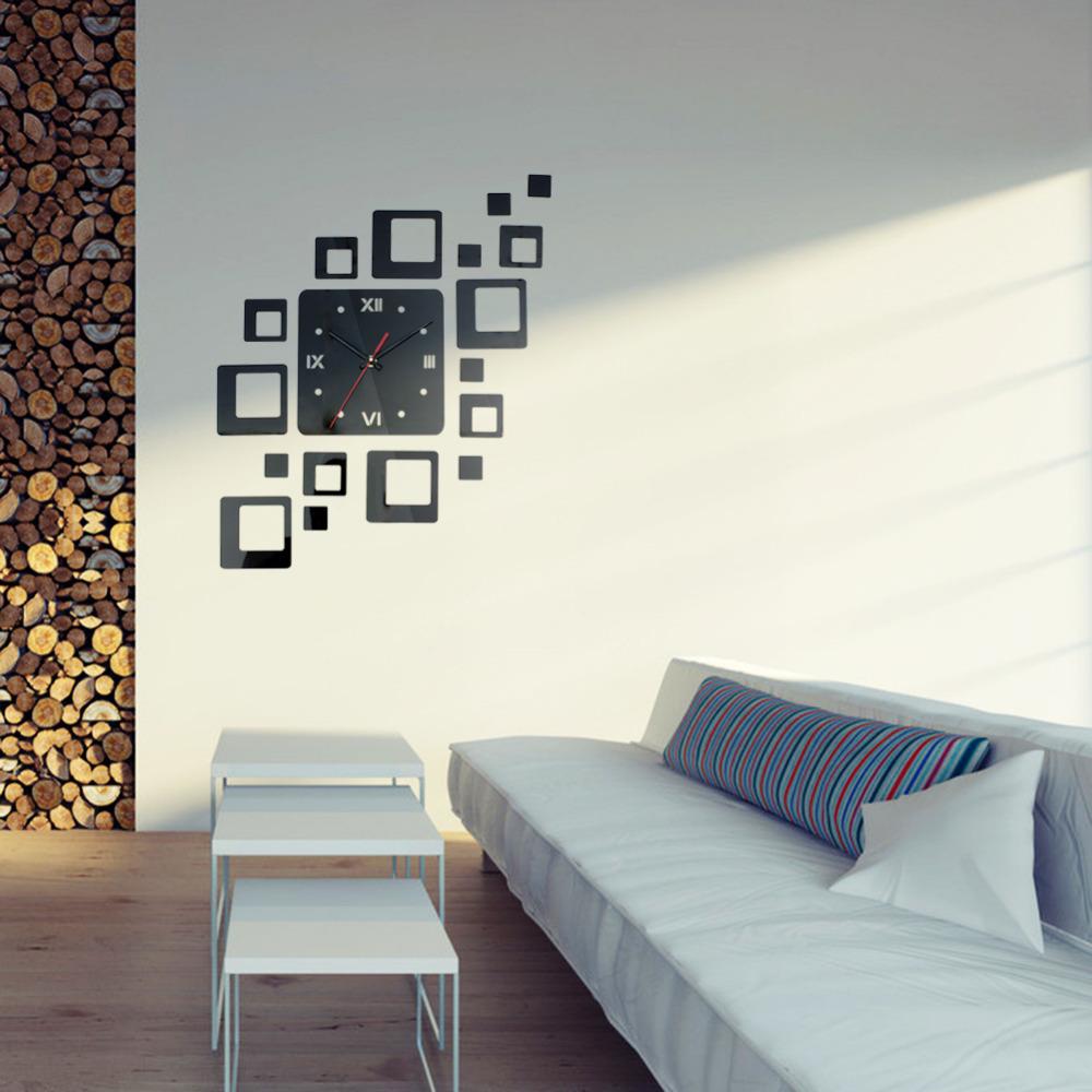Декор квадратного зеркала