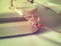 Fashion Jewelry Rhinestone Crystal Metal Snowflake Headbands Hairbands Hair Accessories For Women