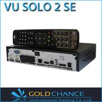 Vu Solo 2  SE Twin Tuner Decoder Vu Solo2 SE Linux Reciever 1300 MHz CPU Digital Satellite TV Recever