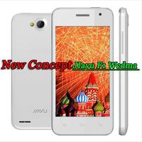 "Free shipping  JIAYU F1 WCDMA  android phone MTK6572 Cual Core Phone 512MB RAM 4GB ROM 5MP 4"" 800*480 2400mah metal frame"