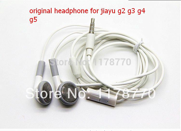 novo original boa qualidade hiput 3.5mm em fones de ouvido com microfone para jiayu g2s/g2f/g3/g4/g5 celular frete grátis(China (Mainland))