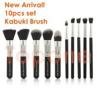 New Arrival! Professional 10 pcs 10pcs Kabuki Brushes Makeup Brushes Sets & Kits Make up Tools Cosmetics Brush Makeup Accessory