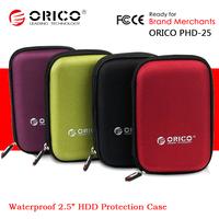 "ORICO PHD-25 2.5"" 2.5 Inch Waterproof Protection Case Laptop SATA HDD Digital Accessories Storage Bag"