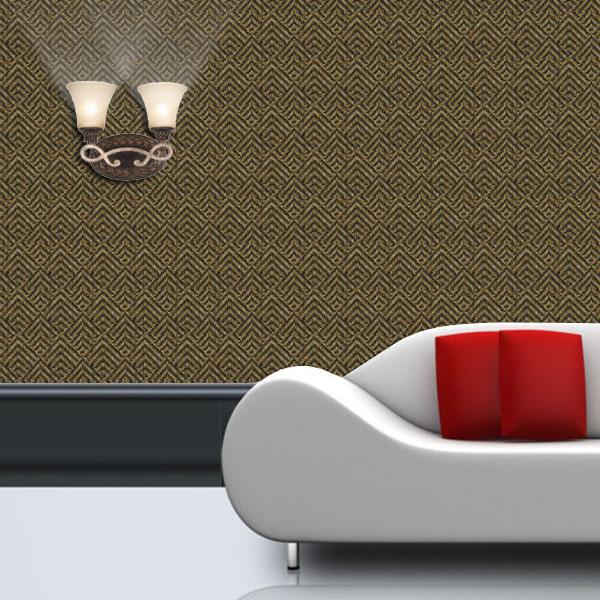 Retro behangpapier slaapkamer : materiële behang wandbekleding voor ...