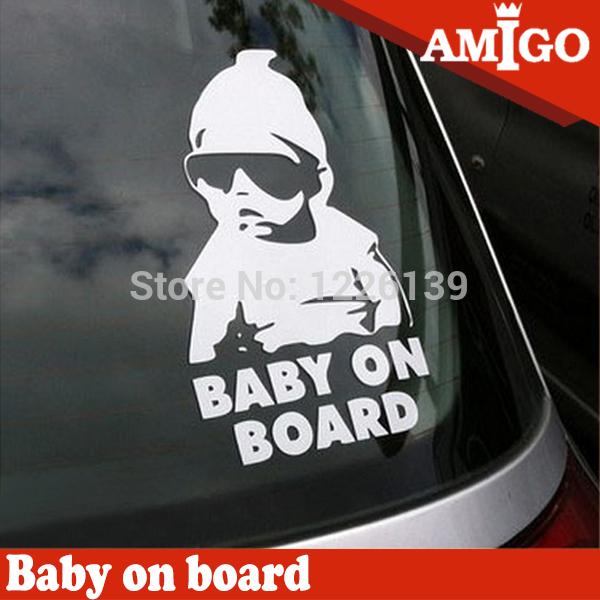 водонепроницаемый cool baby на борту автомобилей