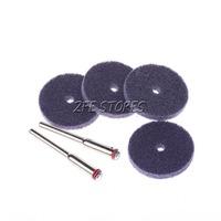 4Pcs Brown 800Grit Nylon Polishing Wheel / Polishing pad For Dremel  Proxxon Rotary Tools