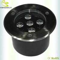 5w led underground spot light  ip67 sealing glue Waterproof garden lamp 500lm AC85-265V outdoor recessed ground light