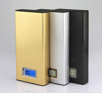 New phone 50000mah LCD power bank PN-912 With universal Dual USB Outputs External Backup Battery charger OEM
