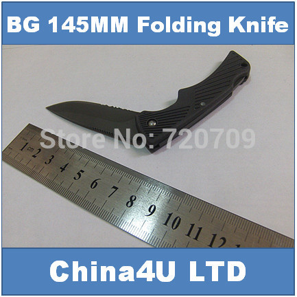 Bear 145MM pocket folding knife ,outdoor camping survival rescue knife without retail box and manual(China (Mainland))