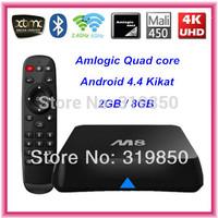 Quad Core CS-M8 XBMC Android TV Box M8 Amlogic S802 2GB/8GB 2.4G/5G Dual WiFi Mali450 GPU 4K HDMI Bluetooth Android 4.4 Kikat