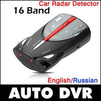 New Cobra XRS 9880 - Full Band Radar detector Car Laser Detector Anti Radar Speed Test with Russian/English Voice.Free shipping