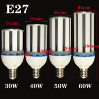 E27 E405730 LED Corn Light AC85-265V Bulb lighting, 30W 40W 50W 60W ,white&warm white,Super Brightness Energy Saving Corn Light