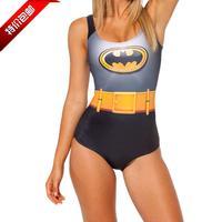 2014 Sale Promotion Freeshipping Nylon Violet Swimsuits Sexy Blackmilk Pad One-piece Swimsuit Female One Piece Triangle Swimwear