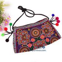 2014 new embroidered bags Gorgeous bohemian handmade embroidery ethnic Thailand handbag shoulder messenger bag