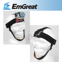 Free Shipping Go pro Accessories Elastic Head Belt Mount Strap Band with Chin Belt for GoPro HD Hero 2/3/3+ P0011763
