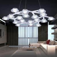LED Plum Blossom Lamp Sitting Room Dining-room Creative Net Circle Pendant Light Free shipping