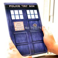 Doctor Who Tardis PU Leather Flip Stand Case Smart Cover For IPAD MINI / Retina 2