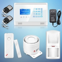Free Shipping ! New Touch Keypad Wireless GSM SMS TXT Auto dial Smart Home Security  Alarm System  Emergency Button White