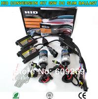 HID conversion Xenon KIT Single Beam Bulb Car Headlamp Light H1, H3, H4-1, H7, H8, H9, H10, H11 12V 35W DC Silm Ballast