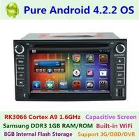 Car DVD Player For Kia Sorento 2002-2009 Pure Android 4.2.2 Capacitive Dual Core 1GB RAM/ROM 3G WIFI Radio GPS Navigation System