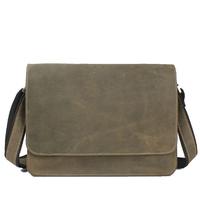 Crazy horse leather men messenger bags vintage postman cowhide leather men messenger bags business men's briefcases travel bag