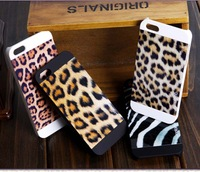 For iphone 5s 5 Case Luxury WILDLIFE Animal jaguar Leopard / Snake Print  PC Hard Phone Case Back Cover for Apple iphone 5 5S 5G