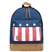 Free shipping new 2014 Mi pac fashion backpack - flags series 130086