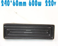 Factory shipping bga rework station dedicated 240 * 60 * 220v far infrared heating panels heat tiles