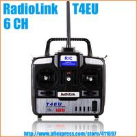 RadioLink T4EU 2.4GHz 6CH Radio RC Transmitter with R7EH 7CH Receiver
