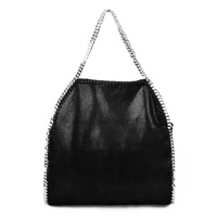 30% OFF Free Shipping New Dissign Medium Size Falabella Shaggy Deer Fold Over 3 Chain women Shoulder handbags, Gift for girl