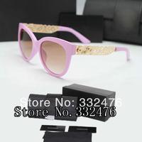 Hot 2014 Cat's metal hollow sunglasses fashion glasses vintage sunglasses women brand designer luxury golden sun glasses oculos