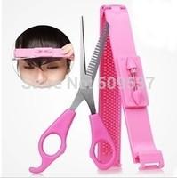 Hair tools Diy bangs tools Regular Hairdressing Hair salon Cutting Thinning Shears Stainless steel Scissors Set Tool