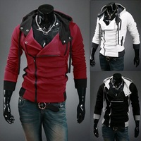 C1012 2014 Winter ! New Coats Men Outwear Mens Special Hoodie Jacket Coat Clothes Cardigan Style Men's Sweater dropshipping