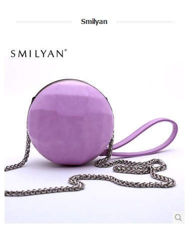 Smilyan fashion chain bag 2014 new arrival golf bag mini day clutch tote bag fashion handbag women's small bag(China (Mainland))