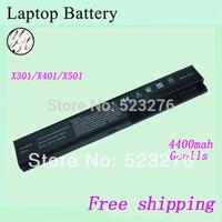 A32-X401 laptop battery For ASUS X301 X301A X401 X401A X501A A31-X401 A41-X401 A42-X401 Notebook battery