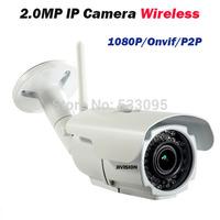 Varifocal 2mp IP Camera 1080p HD CCTV outdoor ip cam wireless IR weatherproof infrared ONVIF security video wifi web bullet IPC