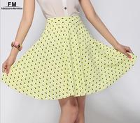 Skirts Women Saias Femininas Peacock Eye Print Skater Skirt Female Summer 2014 saia femino Short Mini Printed Skirt SS14K001