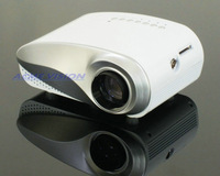 Free shipping 2014 newest 60 lumens 480*320pixels min pico LED video game projector proyector projetor
