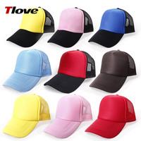 Wholesale School Club Company Custom Plain Hat Cap Mesh Sunbonnet Blank Cap Custom ink Hat with printing/embroidery your logo