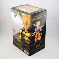 Brand New Dragon Ball Action Figure Toys Battle Edition Kakarot Son Gokou 17cm High PVC Figure Toy For Children Boxed
