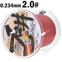 300m Long 0.234mm Diameter 6.5kg Abrasion Resistant Fishing Line Spool Fishing Rope YH-120400