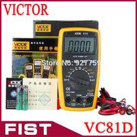 Auto Range VC81D 3 3/4 digit multimeter can measure auto-range temperature / frequency measurement