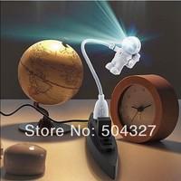 Free Shipping 1Piece USB Astronaut Light / Cute Astronaut PC Lamp