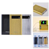 Original REMAX Proda LCD+LED Fast Charging Dual-USB Intelligent Sleep+Protection Power Bank 15000mAH for MobilePhone PAD iPOD