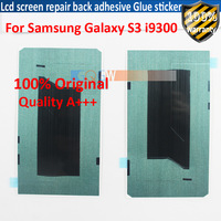 50pcs High Quality For Samsung Galaxy S3 i9300 Lcd screen repair back adhesive Glue sticker strip Free shipping