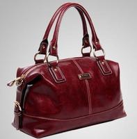 New 2015 fashion Mixed leather Women's Handbags Patent Leather shoulder bags patent leather Vintage designers Crossbody Bags