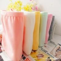 Comfortable cotton princess 100% cotton candy color solid color women's trigonometric low-waist panties