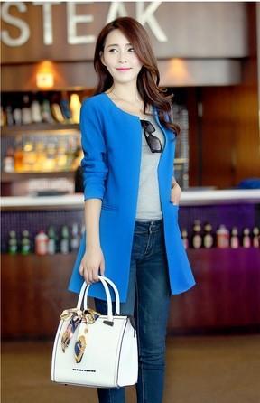 Desigual Coat 4 Colors S-XXL Spring Autumn 2014 New Fashion Trench Coat For Women Long Cardigan Coat For Women(China (Mainland))